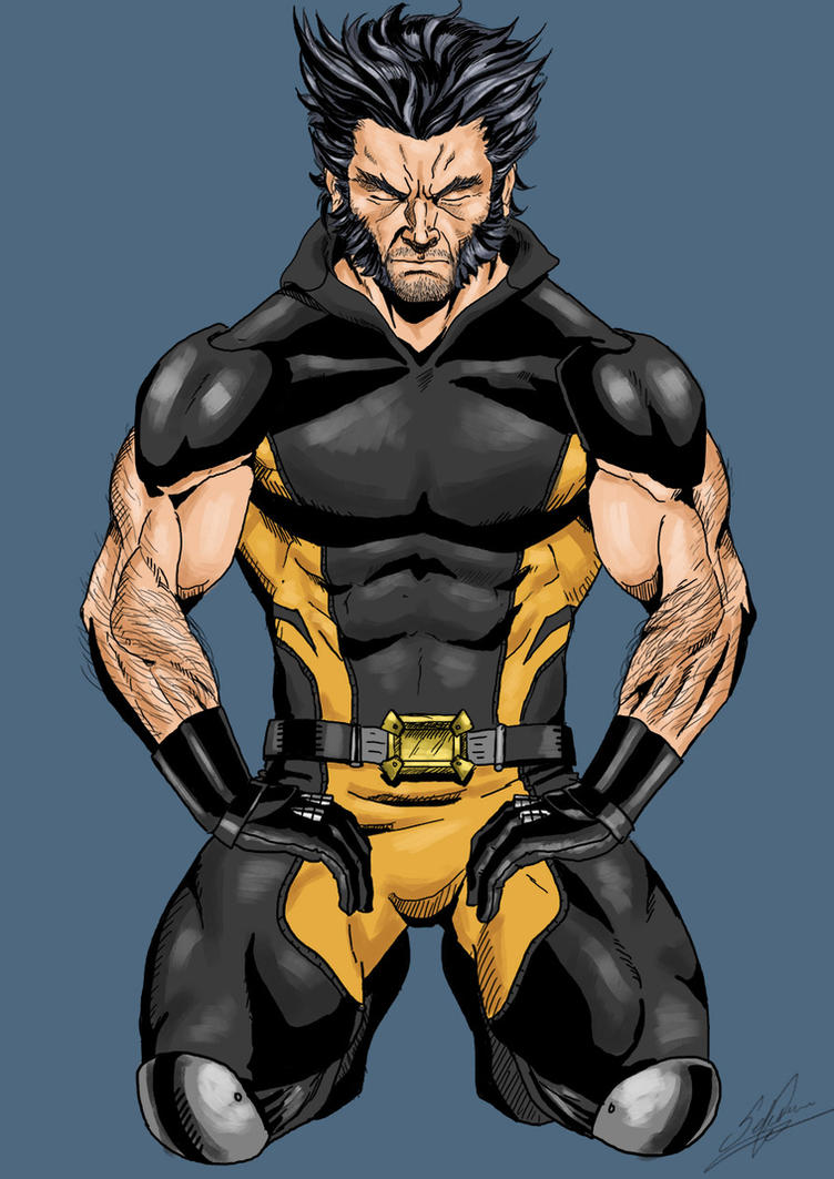 Wolverine Comic Style By Afromane On Deviantart