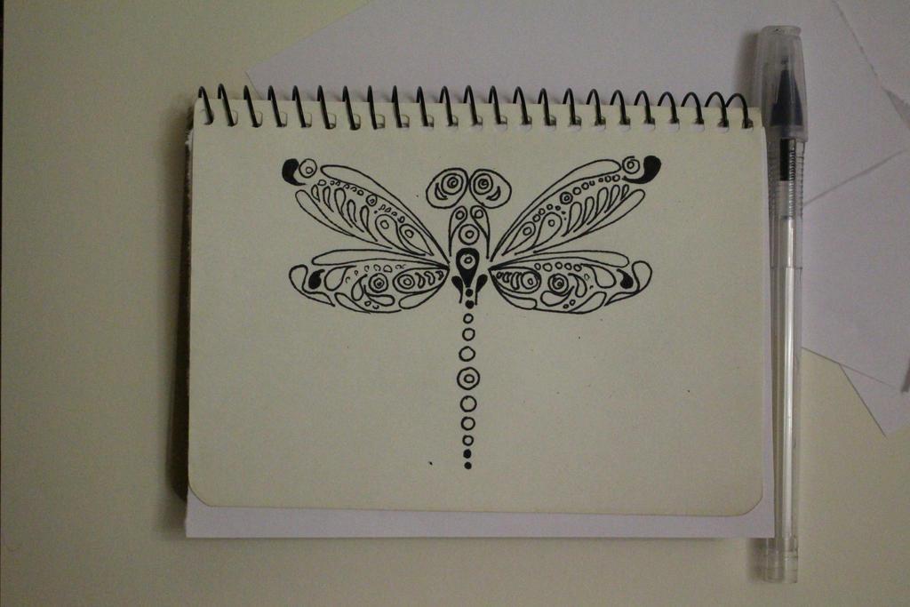 My little dragonfly by Margoshkagrs