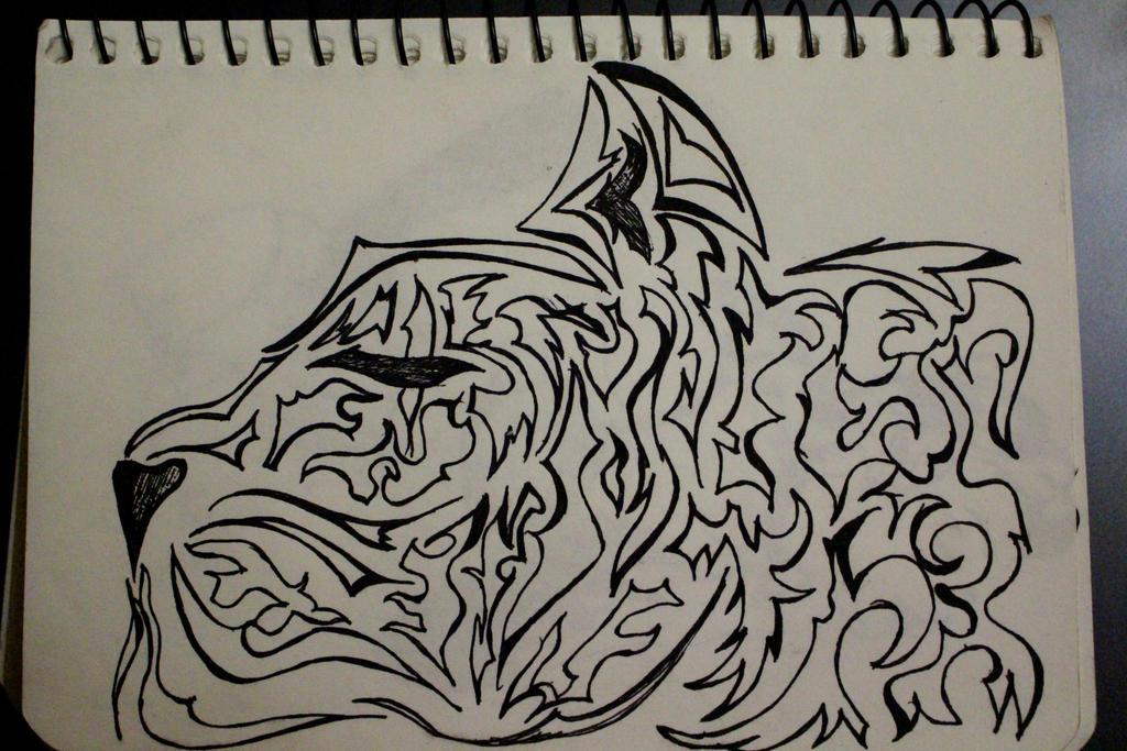 A tiger by Margoshkagrs