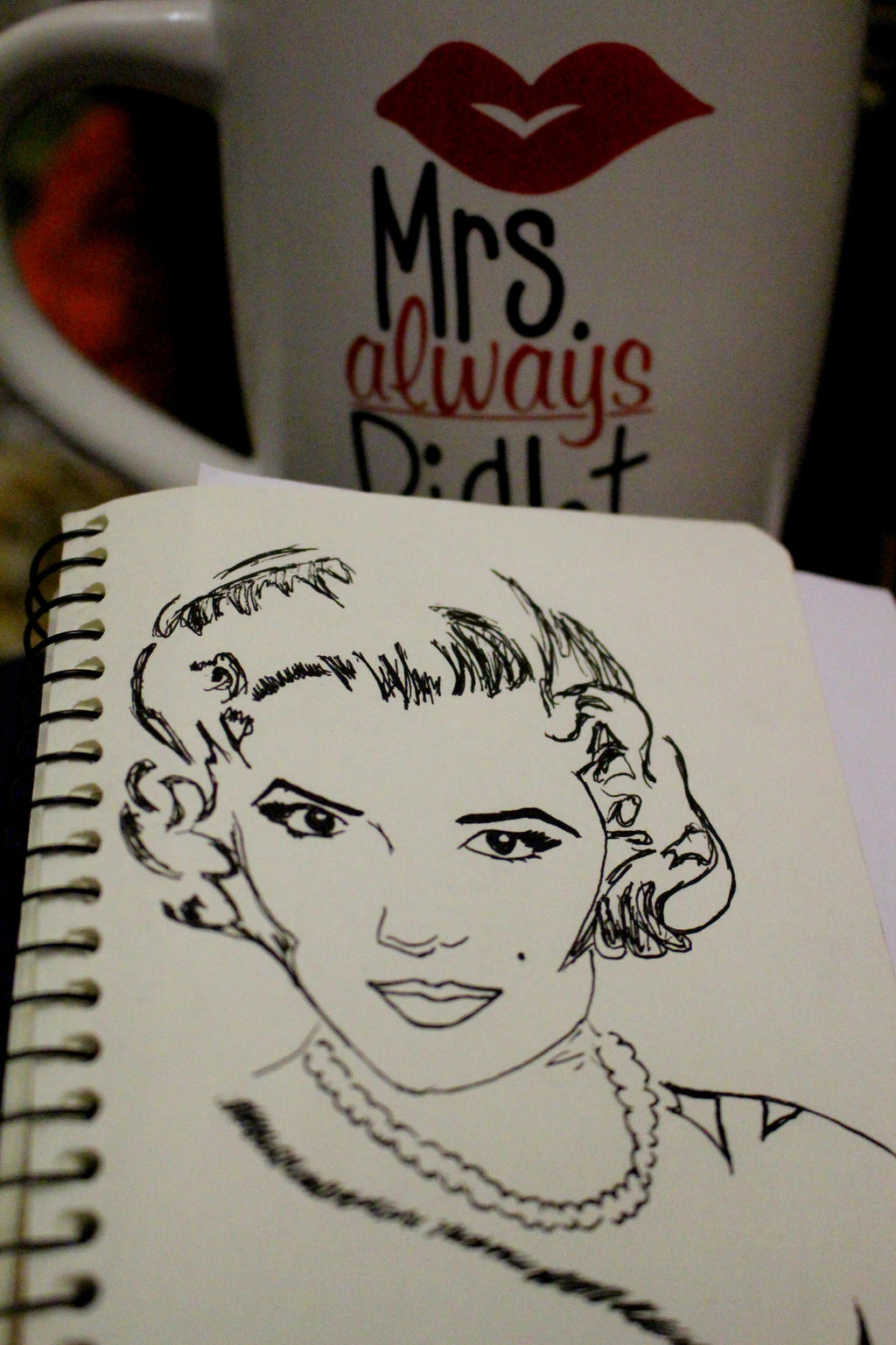Marilyn Monroe by Margoshkagrs