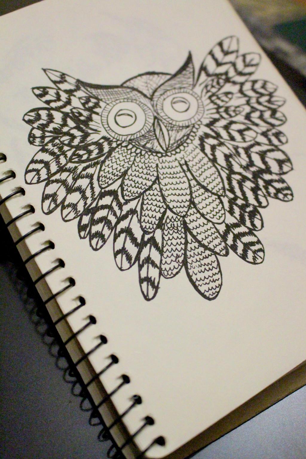 An ooowwwl by Margoshkagrs