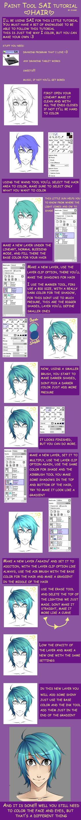 Hair tutorial by Chami-ryokuroi