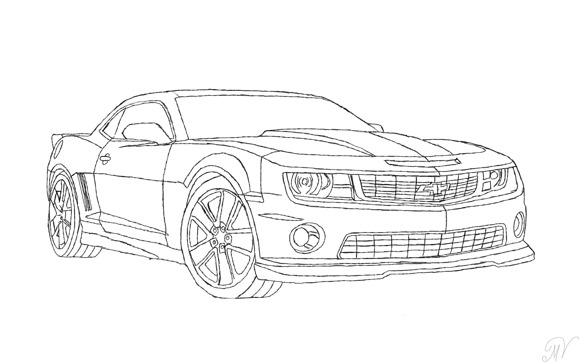List Of Synonyms And Antonyms The Word 2016 Camaro Sketch 2015 Ford Mustang Sketches Daily Design Gallery From Http