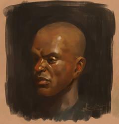 Portrait of a portrait
