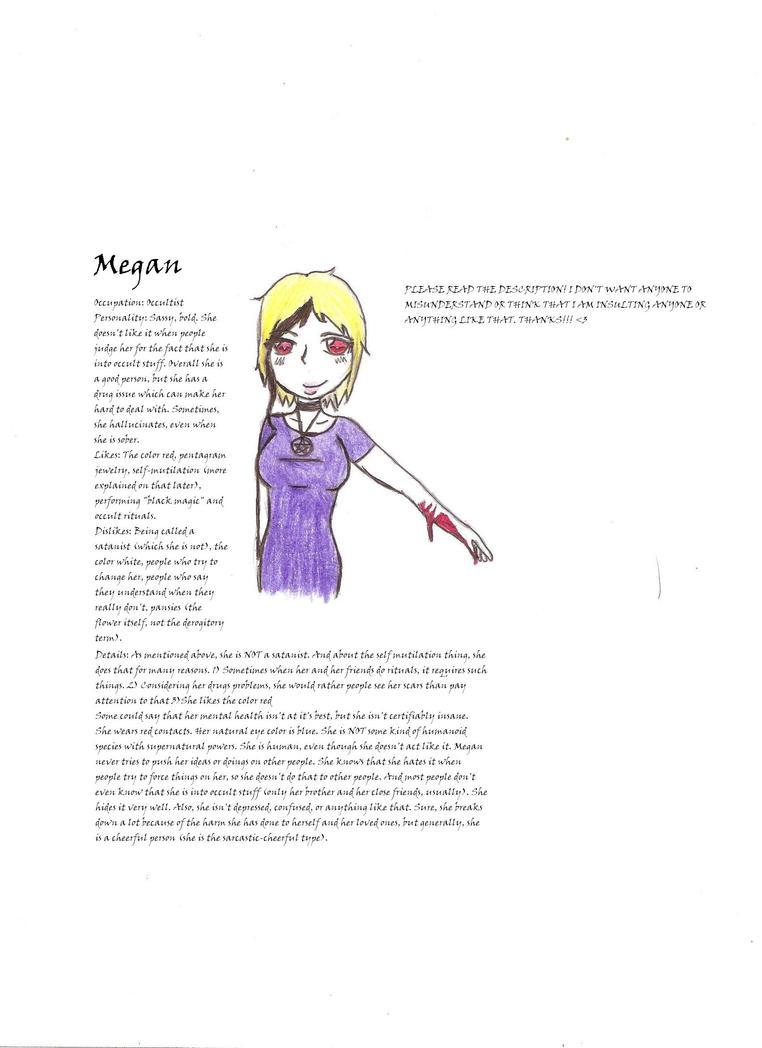 New OC- Megan by DJAnime101