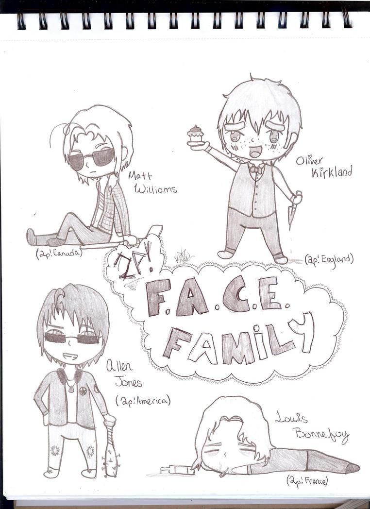 2p!F.A.C.E. Family by DJAnime101