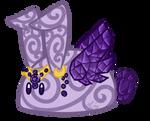 Royal Amethyst Sorbet Bunbon [Closed]