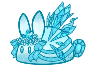 Zircon Ice Queen Cookie Bunbon [CLOSED] by Tinypaperdresses