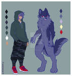 Werewolf OC - Salem