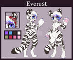 Reference sheet commission - Everest