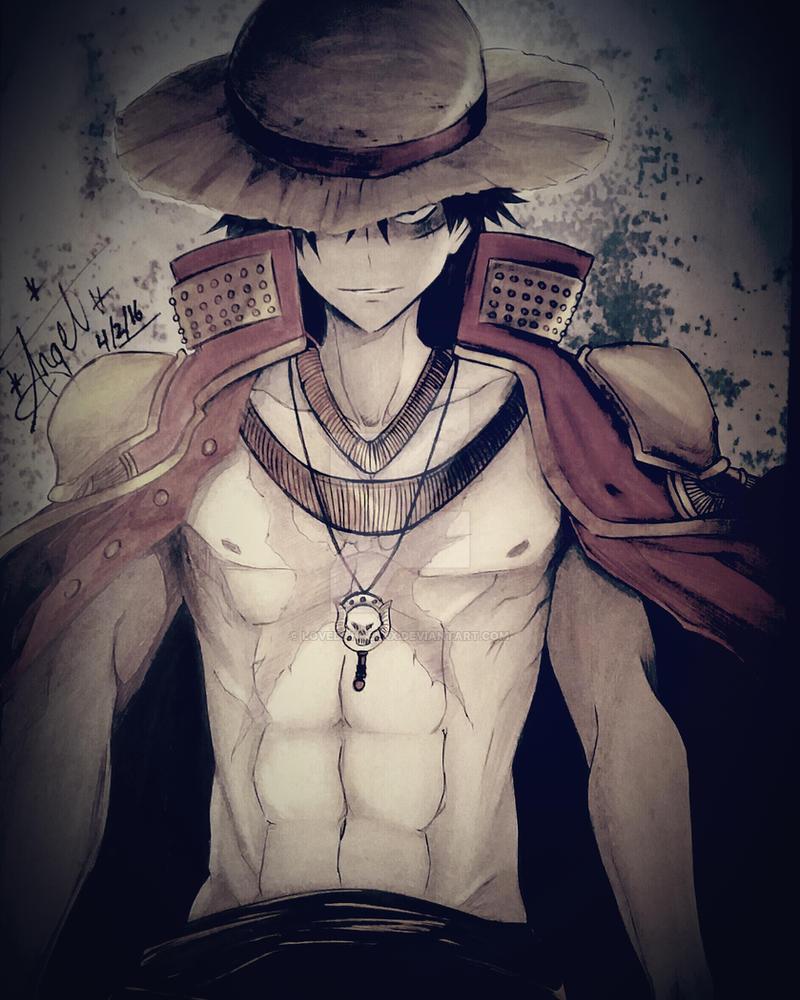 One Piece: Monkey D. Luffy by LovedAngelxX