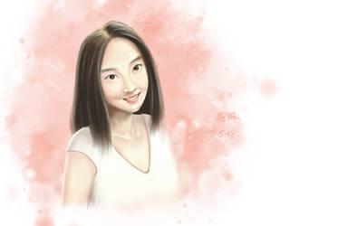 Girl Portrait - wt