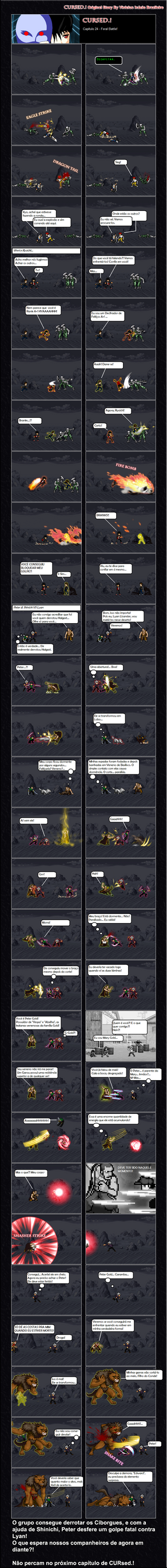 Capitulo 24 Feral Battle by BrazileiroShinichi