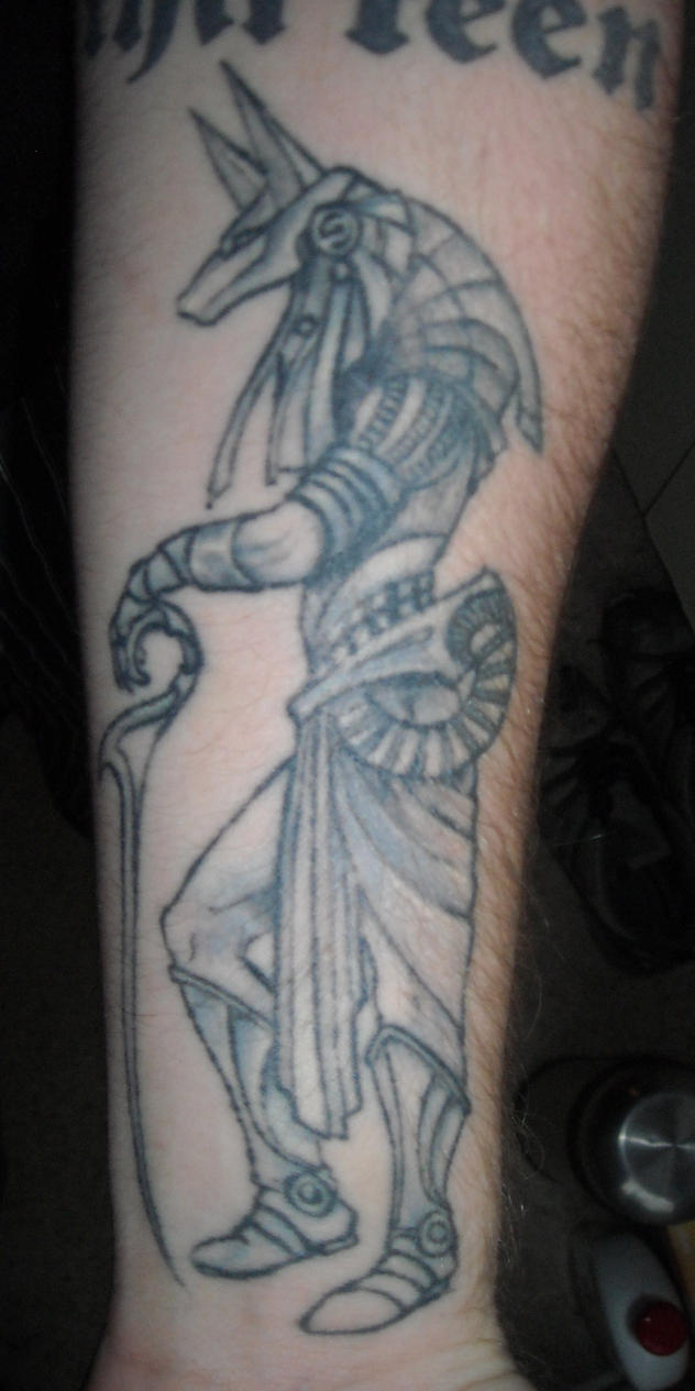 Anubis tattoo by asatorarise on deviantart for 333 tattoo meaning