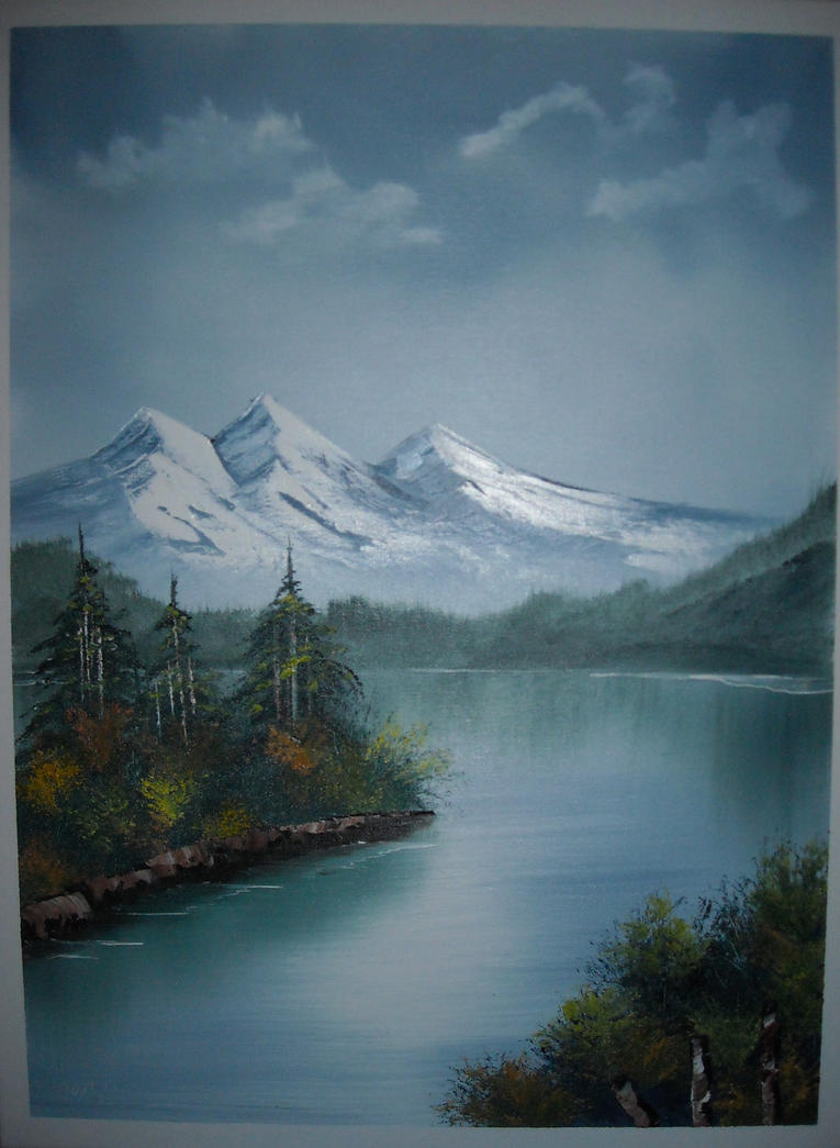 Bob Ross Landscape Paintings - Michael D. Edens | Visual Art
