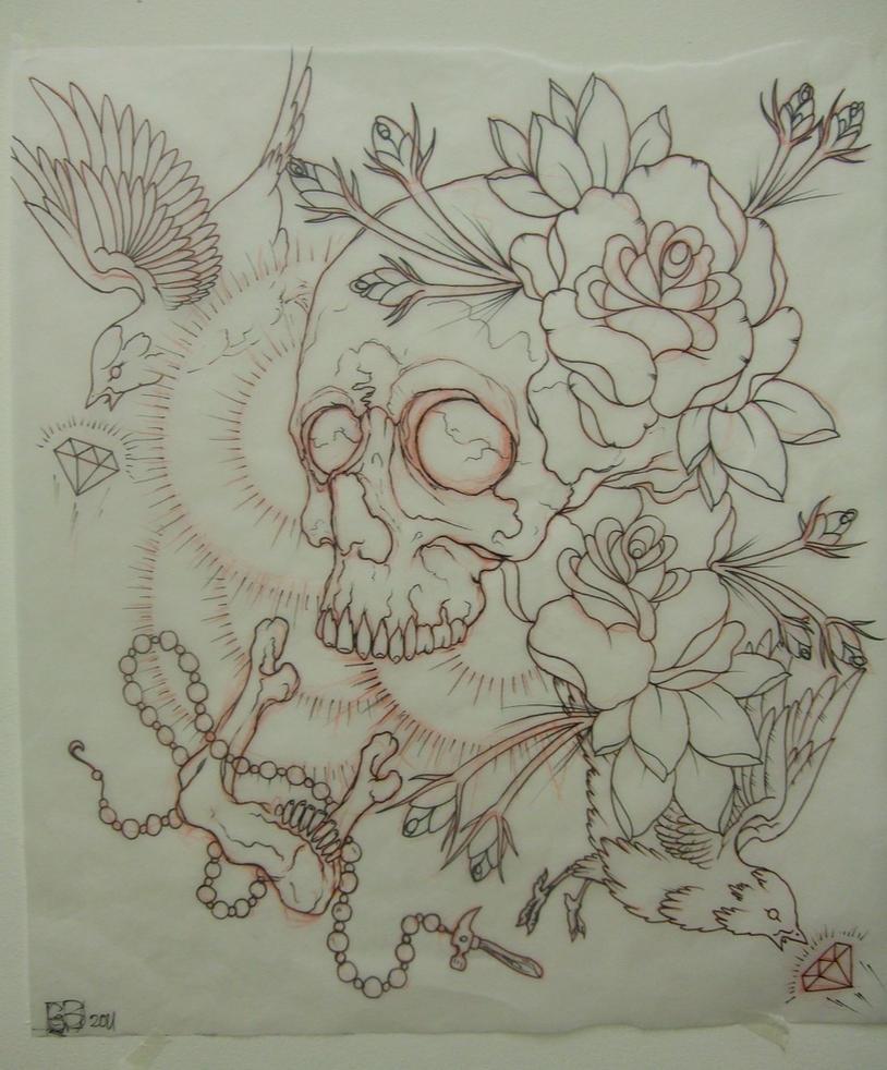 Tattoo Idea Female breast