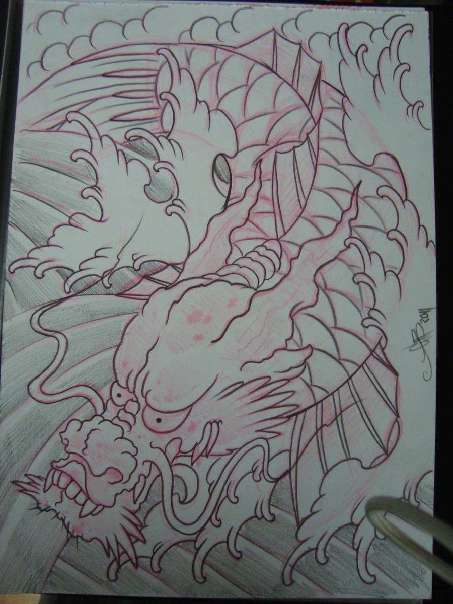 dragon koi by AsatorArise on