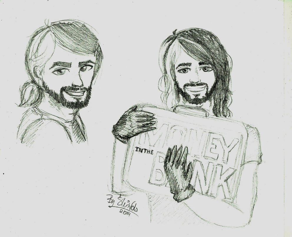 How To Draw Seth Rollins Face