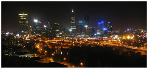 The City of Perth by GoOdz