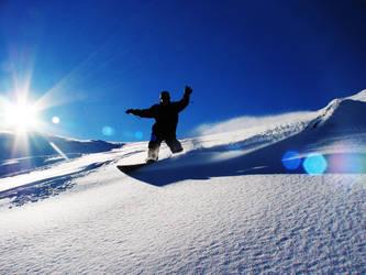 Snowboarding by GoOdz