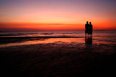 Lovers sunset by GoOdz