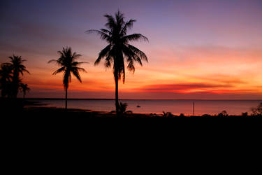 Elcho sunset by GoOdz