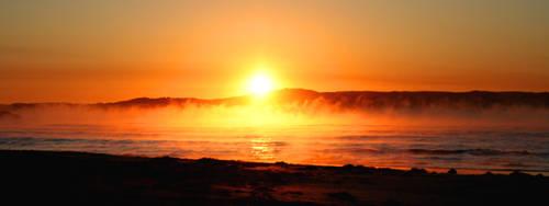 Beach sunrise 2 by GoOdz