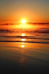 Beach sunrise 3 by GoOdz