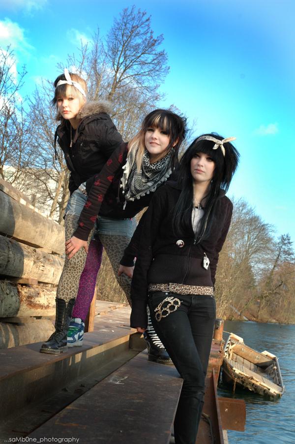 Scene teenagers