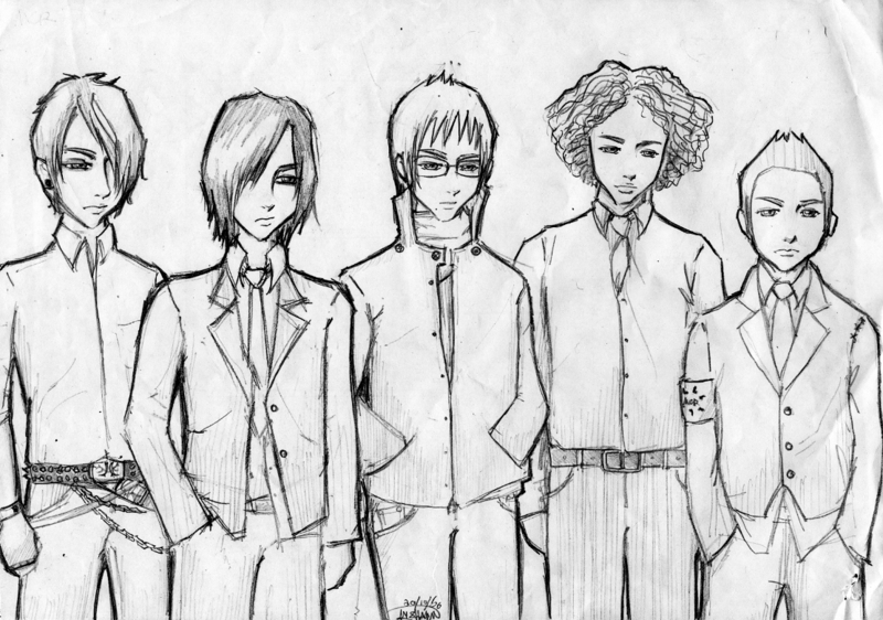 My Chemical Romance By Zero Topic On Deviantart Chemistry Coloring Page