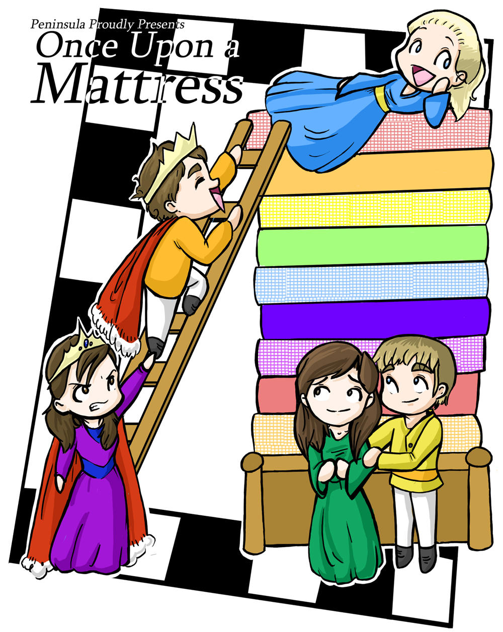 essay once upon a mattress using aristotles six elements
