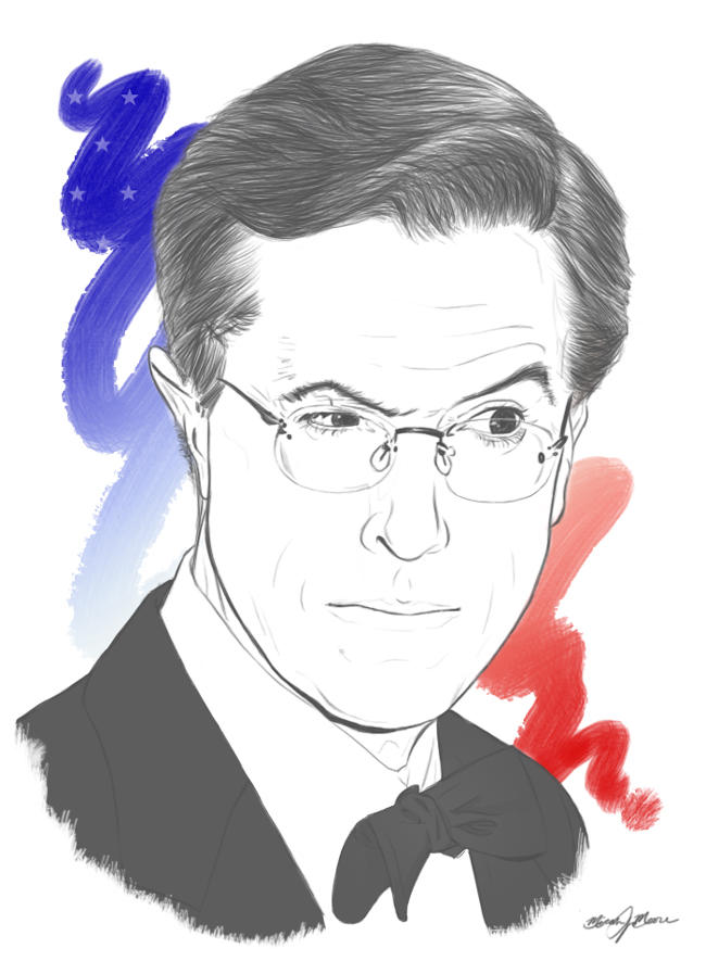 Stephen Colbert by MicahJo