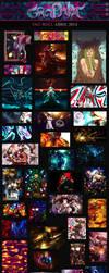 Graphix Tag Wall Abril 2014 by Graphix-Team
