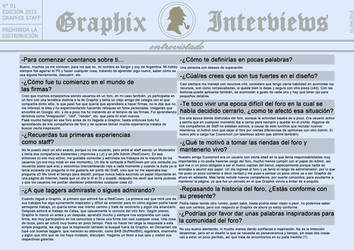 Graphix Interviews #1 by Graphix-Team