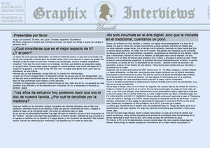 Graphix Interviews #3 (Part 1)