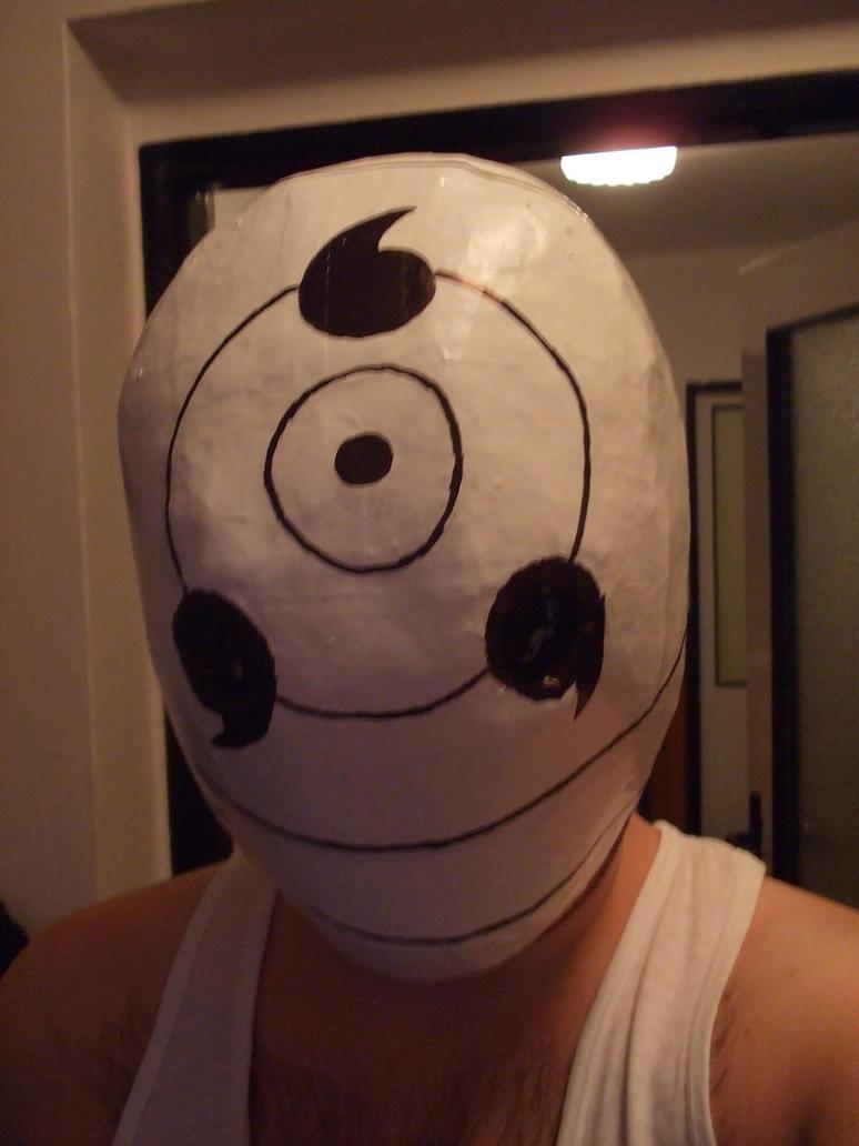 Tobi Rinnegan mask by IkasuTaiki on deviantART