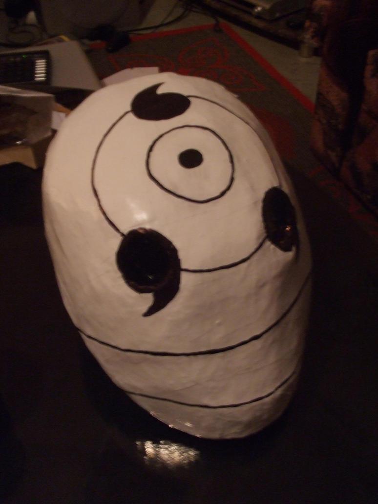 Tobi Rinnegan mask 2 by IkasuTaiki on deviantART