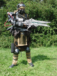 Mercenary cosplay 06