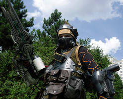 Mercenary cosplay 10