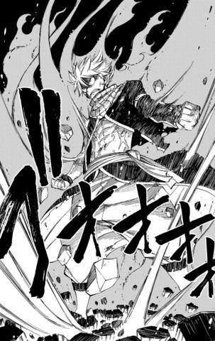 A fierce smile | Zackary Natsu_in_fire_dragon_king_mode_by_strunton-da0xs5j