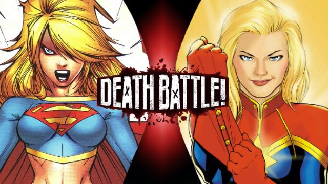 captain marvel vs supergirl