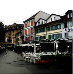 street - Lausanne by MaryTheQueen