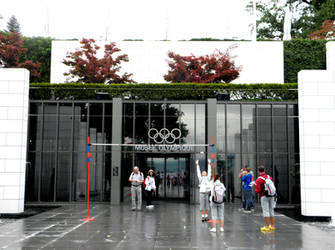 Olympic Museum by MaryTheQueen