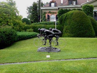 Lausanne-  Olympic Museum by MaryTheQueen