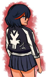 Ryuko sketch