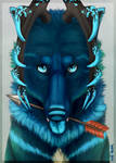 - Blue Arrow [YCH painting] -