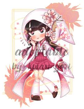 [Adoptable] Auction - Sakura witch [OPEN]