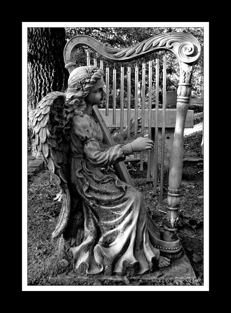 Harp Angel by Teena-Marie