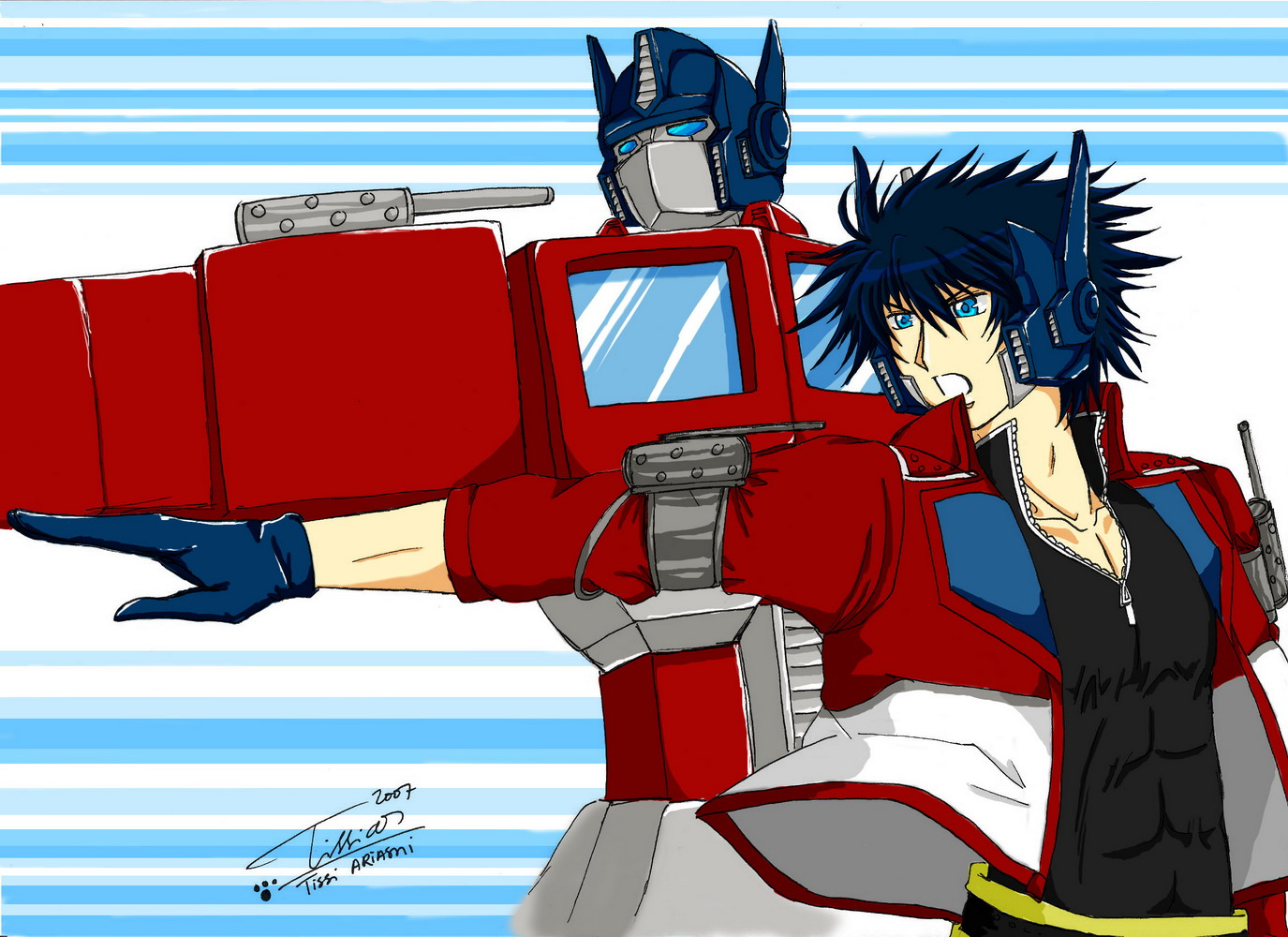 Wierd Resemblances AUTOBOT_ROLL_OUT_by_Tc_Chan