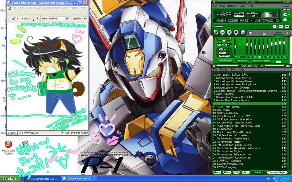 Robot Lover BANZAI by Tc-Chan